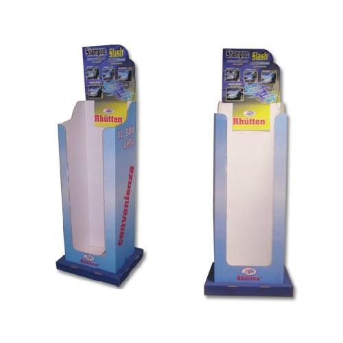 Espositore Per Bottiglie In Plastica Con Base